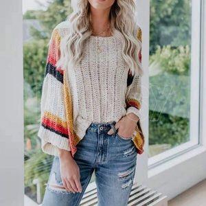 Bohemian Sweater Top